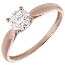 verlobungsringe rotgold verlobungsringe rotgold diamant günstig bestellen edenly