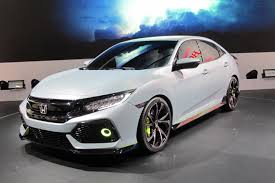 Honda Civic Usa 2017 Honda Civic Hatchback Unveiled In Geneva