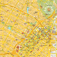 Map Of Downtown Los Angeles by Map Los Angeles Ca City Center California Usa Central