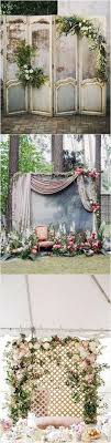 wedding backdrop ideas vintage vintage door inspired wedding backdrop ideas with greenery