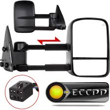 amazon com eccpp towing mirrors for chevy chevrolet silverado