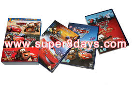 cars 1 3 dvd collection 3dvd disney dvd cartoon movies dvd