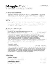 Sample Resume For Sales Associate And Customer Service by Lead Sales Associate Resume Samples Visualcv Resume Samples Database