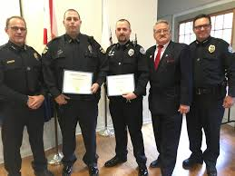 windermere ocoee police officers awarded for altruism