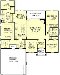 ranch style open floor plans ranch style house plan 1778 sq ft plan 430 88 only needs mbr door