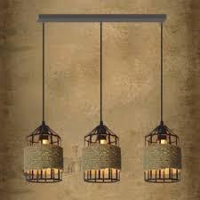 Three Light Pendant Fashion Style Multi Light Pendants 3 Industrial Lighting