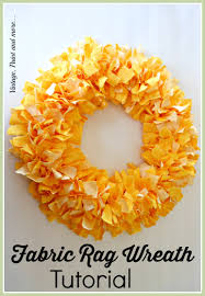 vintage halloween fabrics fabric rag wreath tutorial wire wreath forms wire wreath and