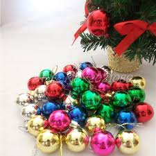 3cm 36pcs lots 2017 new brand tree balls decorations