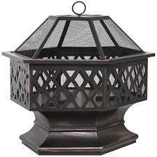 Fire Pit Amazon Com Best Choice Products Bcp Hex Shaped Outdoor Home