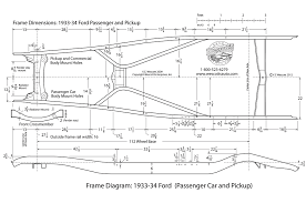 Car Interior Blueprints Boxing A 1933 Or 1934 Ford Frame Rod Network