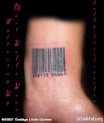 barcode tattoos and designs page 30