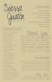 programs for wedding ceremony modern wedding ceremony program printable by xsimplymoderndesignx
