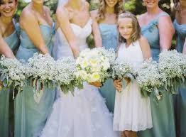 bridesmaid bouquets bouquet inspiration baby s breath bridesmaid bouquets