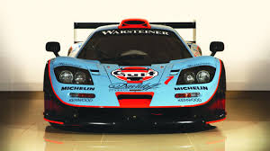 gulf racing logo gulf liveried mclaren f1 gtr for sale top gear