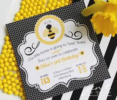 bumble bee party favors bumble bee party invitations jen t by design
