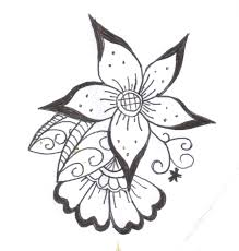 easy to draw sketches of flowers drawing art u0026 skethes
