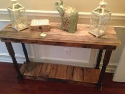 reclaimed wood entry table reclaimed barn wood console table with hairpin legs 30 height