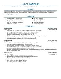 job resume sles for high students marketing resume template good accomplished spa sales associate