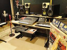 Studio Desk Diy 5 Awesome Recording Studio Desk Plans On A Budget
