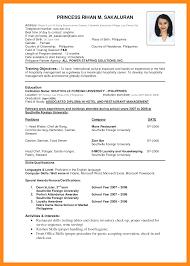 resume for job application sample resume samples and resume help