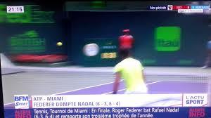Resume Miami Résumé Du Match Federer Nadal Finale Du Tournoi Atp De Miami 2017
