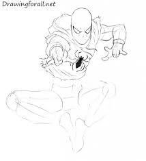 how to draw ben reilly the scarlet spider drawingforall net