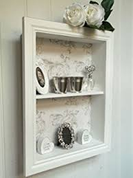 Shabby Chic Plate Rack by Shabby Chic French Style Kitchen Wall Plate Rack Storage Rack In