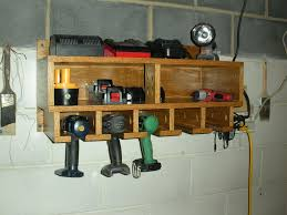 Charging Shelf Station by Wood Cordless Tool Station Woodworking Talk Woodworkers Forum