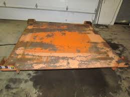 Pallet Lift Table by Knight 4000 Lb 2 Ton Air Pneumatic Pallet Scissor Lift Table 78x78