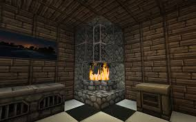 my take on a kitchen fireplace designed to look interesting and