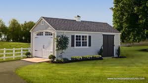 1 car garage homestead structures