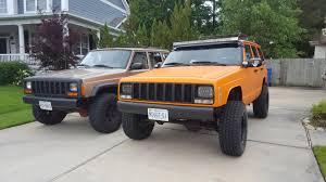 jeep cherokee stinger bumper bye bye angry eyes hello led u0027s cherokeexj