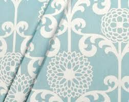 Blue Home Decor Fabric Retro Home Decor Fabriccv Retro Linen Floral Tropical Garden