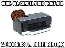 Printer Meme - city ink express blog 7 emotions we all experience when using a