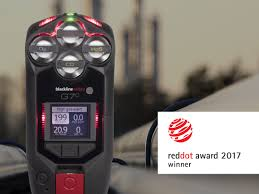 red dot award u2014 g7 gas detector is internationally recognized