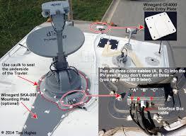 rv net open roads forum technology corner dish trav u0027ler installing