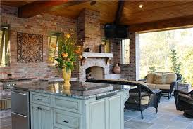 Outdoor Kitchen Designs With Pizza Oven by Outdoor Kitchen With Fireplace And Pizza Oven Eva Furniture
