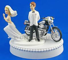 harley davidson wedding cake toppers new harley davidson motorcycle wedding cake topper harley davidson