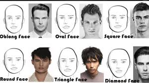 haircut based on your shape long and short hairstyles for men according to face shape