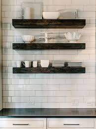 Open Metal Shelving Kitchen by Best 10 Floating Shelves Kitchen Ideas On Pinterest Open
