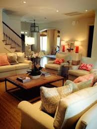 SPACIOUS FAMILY ROOM WITH SOOTHING DECOR  Pinteres - Furniture family room