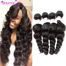 body wave vs loose wave hair extension peruvian virgin hair loose wave 4 bundles peruvian loose wave