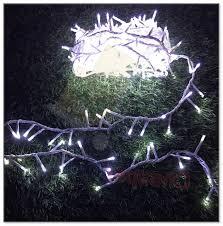 white wire tree lights