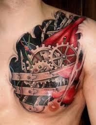 37 inspirational chest tattoos for men tattoos beautiful