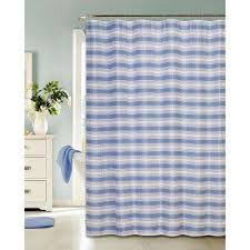 Curtains With Hooks Blue Shower Curtains Shower Accessories The Home Depot