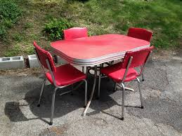 50 s kitchen table and chairs chrome kitchen table attractive vintage 50s and chairs awesome gray