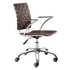 Office Rolling Chairs by Criss Cross Espresso Office Chair