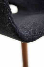 eames saarinen replica organic chair dark grey