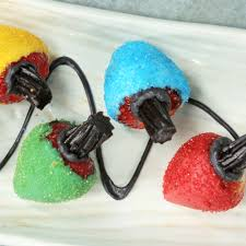 Colored Christmas Lights by Christmas Light Strawberries Recipe Myrecipes