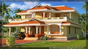 kerala style house plans courtyard youtube